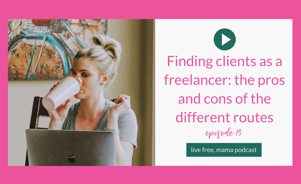 finding clients as a freelancer