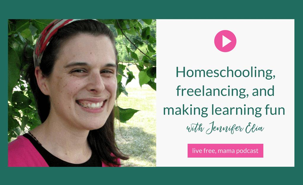 homeschooling and freelancing