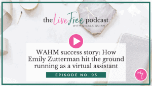 95: WAHM success story: How Emily Zutterman hit the ground running as a virtual assistant