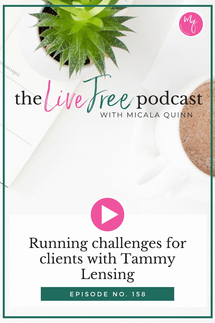 158: Running challenges for clients with Tammy Lensing