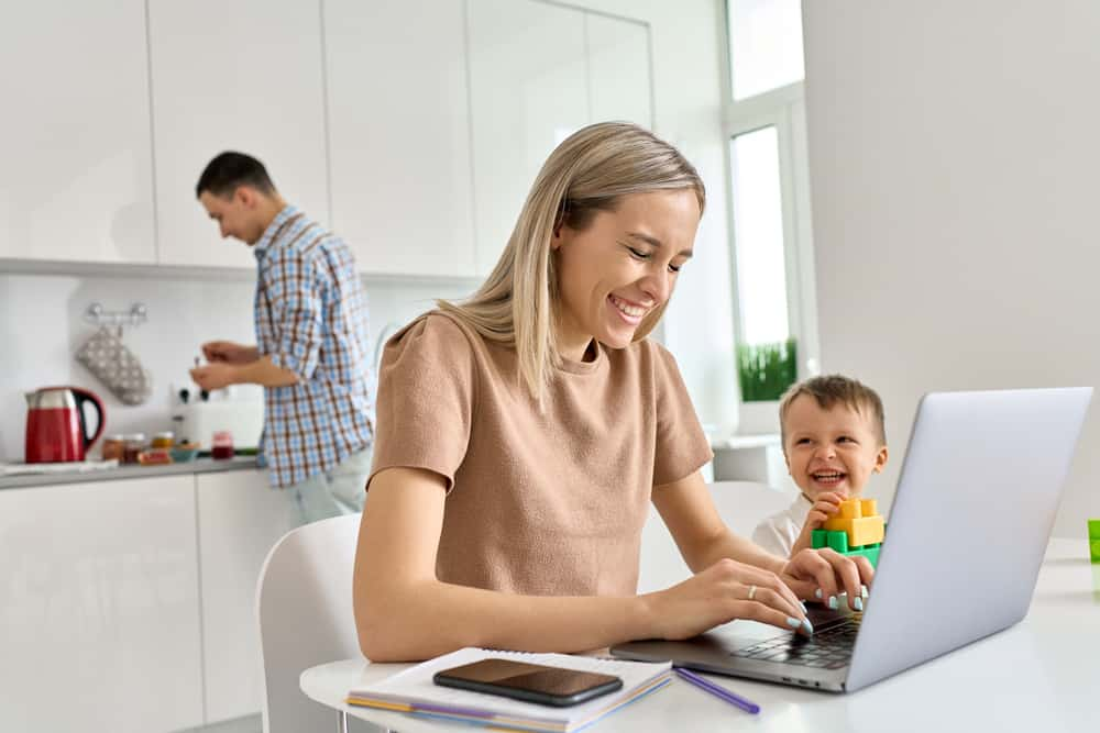 Game Changer Moms Working from Home