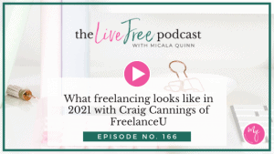 166: What freelancing looks like in 2021 with Craig Cannings of FreelanceU