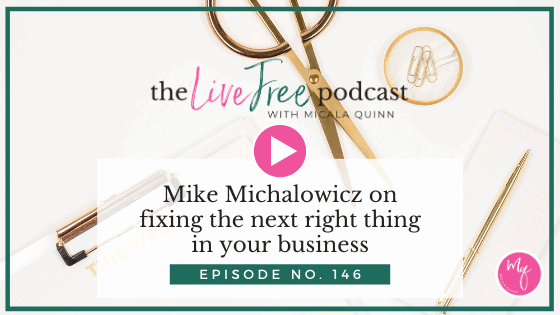 Mike Michalowicz on what to fix next in your business