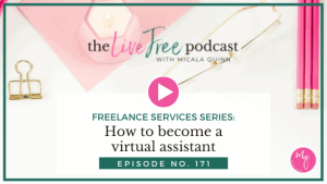 175: How to become a virtual assistant | Freelance Services Series