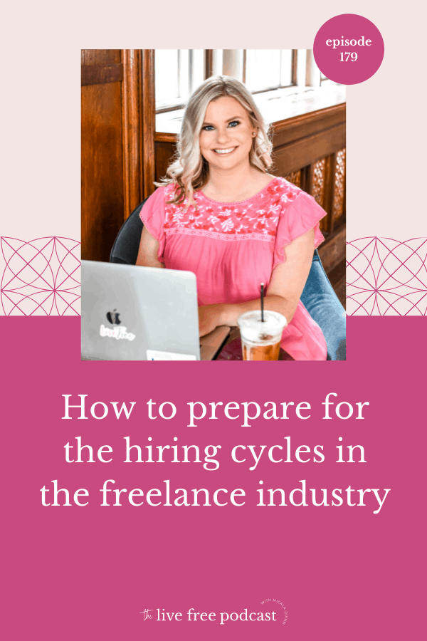 How to prepare for the hiring cycles in the freelance industry